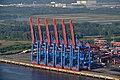 Containerterminal Altenwerder (Hamburg-Altenwerder).Containerbrücken.2.phb.ajb.jpg