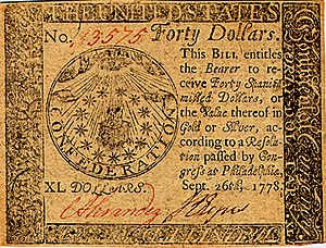 Continental Currency $40 banknote obverse (September 26, 1778).jpg