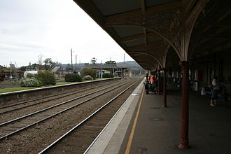 Main Southern railway line, New South Wales - Cootamundra station