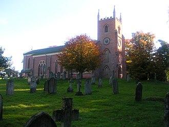 Copythorne - Image: Copythorne church