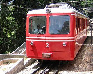 Corcovado Rack Railway Railway line in Rio de Janeiro, Brazil