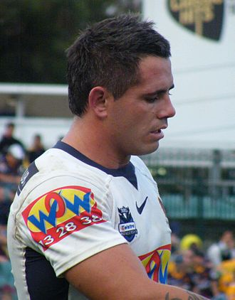 Corey Parker (rugby league) - Parker playing for the Broncos in 2009