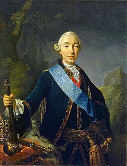 Coronation portrait of Peter III of Russia -1761