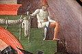 Cosmè tura, giudizio di san maurelio, 1480, da s. giorgio a ferrara, 05 paggio con falcone vicino bucranio.jpg