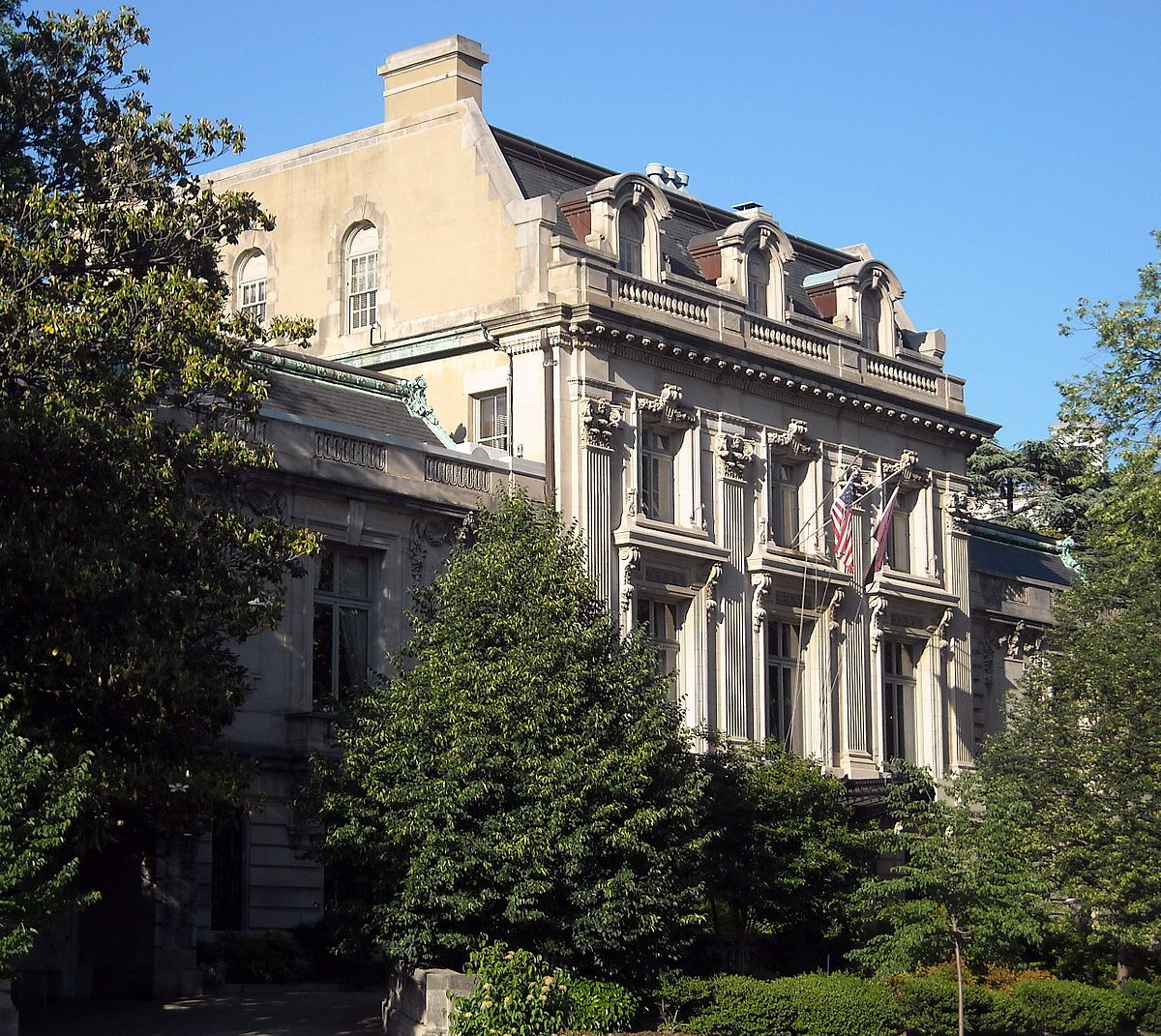 Art Places In Washington Dc: Townsend House (Washington, D.C.)