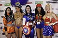 Cosplayers at the 2016 AVN Adult Entertainment Expo.jpg