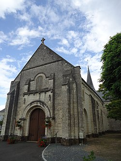 Coulongé - Eglise Saint-Lubin.JPG