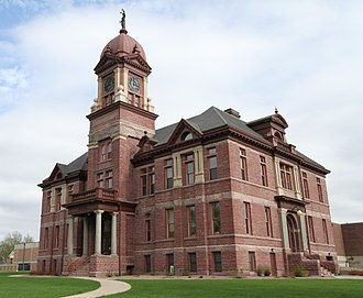 Pipestone County, Minnesota - Image: Courthouse Pipestone MN