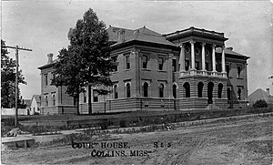 Covington County, Mississippi - Image: Covington County Courthouse