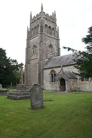 Cranmore, Somerset - Image: Cranmore church