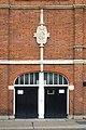 Craven Cottage Fulham FC Stadium Grandstand Street Elevation Detail Badge.jpg