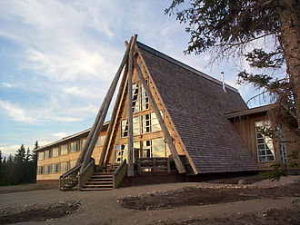 Moose Factory - Cree Eco Lodge dining room