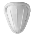 A form of a cup, as worn by male cricket players.