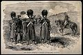 Crimean War; ambulance men carrying a wounded officer from I Wellcome V0015370.jpg