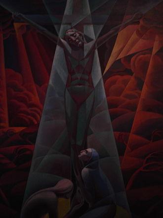Gerardo Dottori - Crocifissione, Gerardo Dottori (1927)