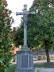 calvaire du cimetière de Calmont