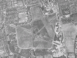 Croydon Airport in 1945