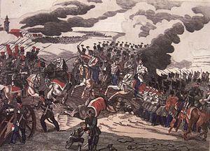 Battle of Csorna - Image: Csornai ütközet 1849 jún 13