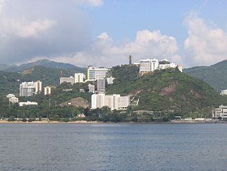 Ma Liu Shui - The Chinese University of Hong Kong in Ma Liu Shui.