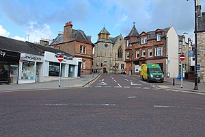 Cumnock - Image: Cumnock town centre, Scotland