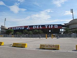 """Stadio Riviera delle Palme - Image: Curva Nord """"Massimo Cioffi"""", San Benedetto del Tronto"""