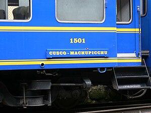 PeruRail - Cusco to Machu Picchu