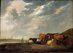 New Westminster - Moody likened his vision of the nascent Colony of British Columbia to the pastoral scenes painted by Aelbert Cuyp