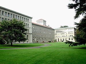 World Trade Organization - The headquarters of the World Trade Organization in Geneva, Switzerland.