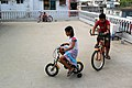 Cycling on roof (02).jpg