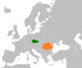 Czech Republic Romania Locator.png
