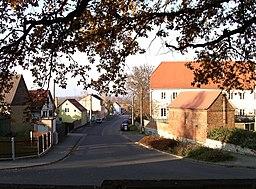 Auenstraße in Schkeuditz