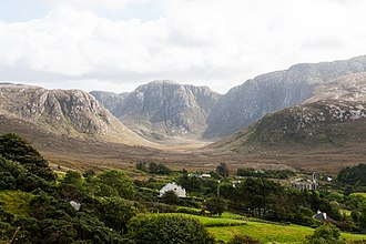 County Donegal - Poison Glen (Gleann Nimhe), in North West Donegal