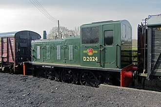 British Rail Class 03 - Image: D2024 at bodiam