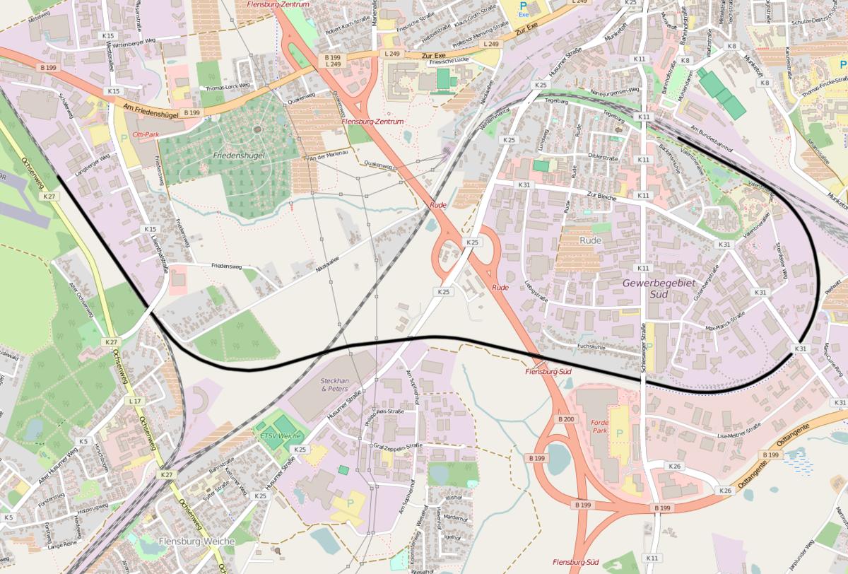Friedensweg Flensburg