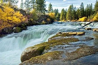 Dillon Falls - Image: DILLON FALLS, DESCHUTES RIVER DESCHUTES NATIONAL FOREST