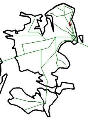 Nærum Line - Image: DK 2012 Nærumbanen