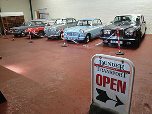 Dundee Museum of Transport - Image: DMOT Exhibit Hall