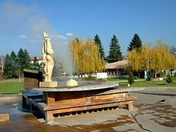 Sapareva Banya with the geyser