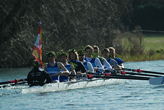 Hughes Hall College Boat Club - M1, blades, Lents 2012