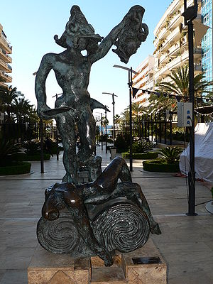 Sculpture by Salvador Dalí