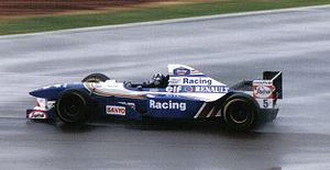 1995 British Grand Prix - Damon Hill took pole position for his home race for the second consecutive year.