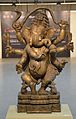 Dancing Ganesha - Brass - Circa 18th Century CE - Odisha - ACCN 95-2 - Indian Museum - Kolkata 2015-09-26 3945.JPG