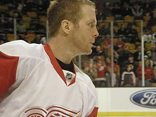 Daniel Cleary Canadian ice hockey player