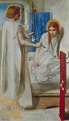 Dante Gabriel Rossetti: Ecce Ancilla Domini