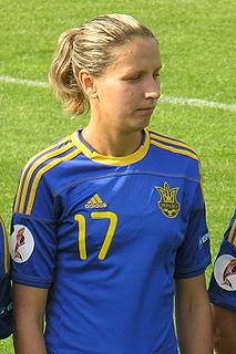 Daryna Apanashchenko Ukrainian footballer