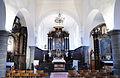 Dave. Église Saint-Martin. Intérieur. Vue générale vers le chœur..JPG