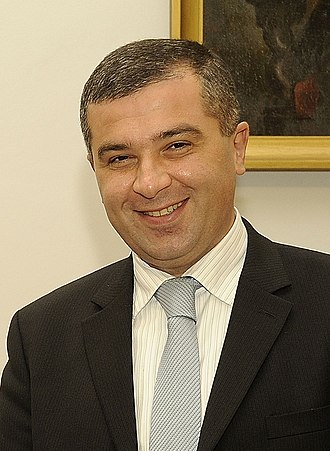 2013 Georgian presidential election - Image: David Bakradze cropped