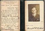 David Hugh McCulloch Hydroaeroplane Certificate No. 16 of the Aero Club of America.jpg