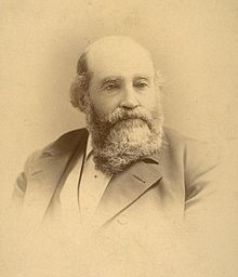 Bearded, portly man from 1880s