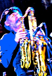 Saxophonist, flautist and composer David Jackson